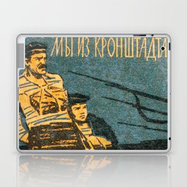 Soviet Film Poster We are From Kronstadt Laptop & iPad Skin