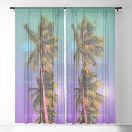 Neptune's Day Sheer Curtain
