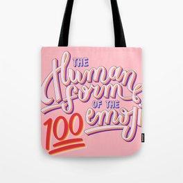 100 Emoji Tote Bag
