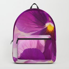 Flower Bouquet in Purple and Pink Colors  #decor #society6 #buyart Backpack