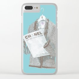 Forever I: Lecture Clear iPhone Case