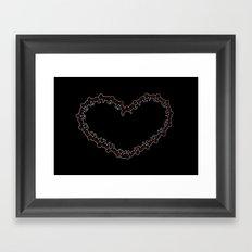 Heartipede Framed Art Print