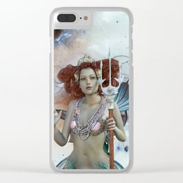 Space Siren: Mermaids of the Sky Clear iPhone Case