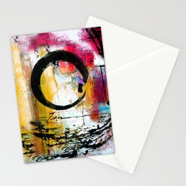 Enso Abstraction No. mm15 Stationery Cards