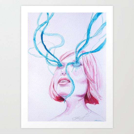 fluido Art Print
