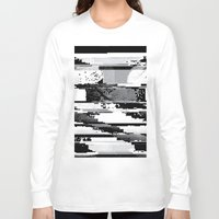 glitch Long Sleeve T-shirts featuring Glitch by poindexterity