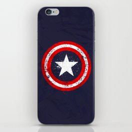 Captain's America splash iPhone Skin