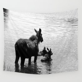 A Protective Mom Wall Tapestry