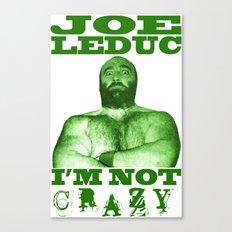 Memphis Wrestler Joe Leduc Canvas Print