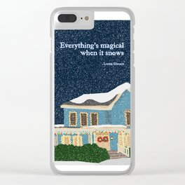 Gilmore girls house Clear iPhone Case