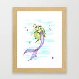 Merdancer Framed Art Print