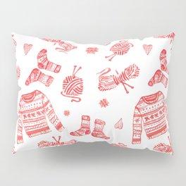 Hygge Knit Sweaters + Yarn Pillow Sham