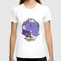jack frost T-shirts featuring Jack Frost Circlet by Z Doodle