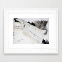 dress Framed Art Prints featuring dress by woman