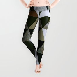 Abstract #344 Leggings
