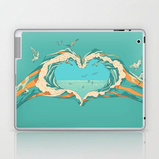 My Heart & The sea Laptop & iPad Skin