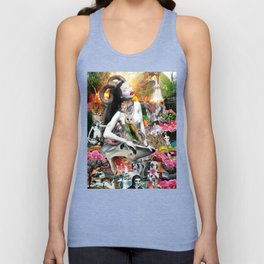 Jungle Melodrama Unisex Tank Top