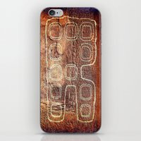 android iPhone & iPod Skins featuring ANDROID by lucborell