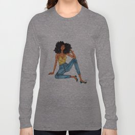 Lounging Long Sleeve T-shirt