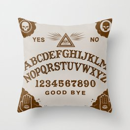 Mystic Board Throw Pillow