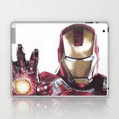 Iron Man Pen Drawing Laptop & iPad Skin