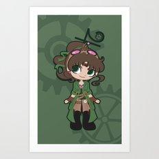 Steampunk Sailor Jupiter Art Print