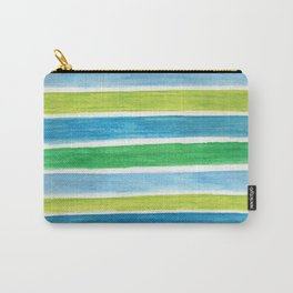 Sea Stripes Carry-All Pouch