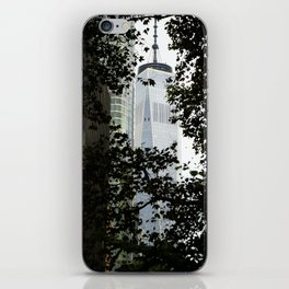 Seeing WTC1 through the Trees iPhone Skin