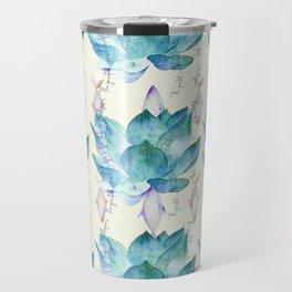 Lotus lovers print Travel Mug