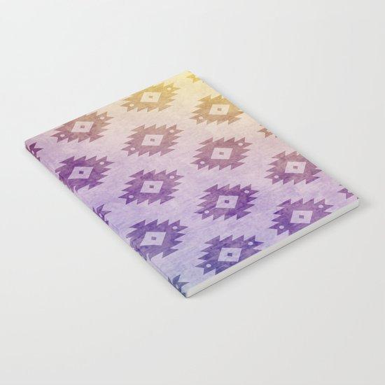 Aztec Pattern 06 Notebook