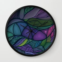 Flow of Time Wall Clock