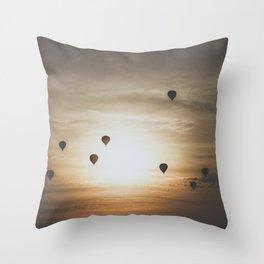 Bagan VII Throw Pillow