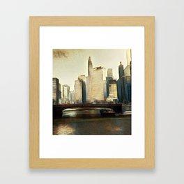 Art Deco Chicago Framed Art Print