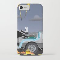 delorean iPhone & iPod Cases featuring Delorean Song by thewhitewolf90