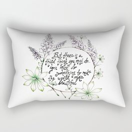 Miss Rumphius Rectangular Pillow