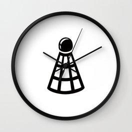 Badminton Ideology Wall Clock