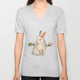 Cruelty Free Bunny Unisex V-Neck