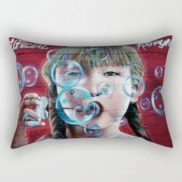 """""""Artificial Happyness"""" Rectangular Pillow"""