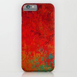 Figuratively Speaking, Abstract Art iPhone Case