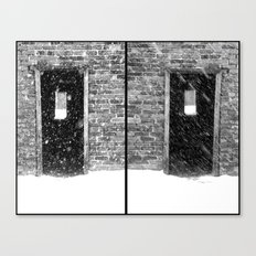 Double Doors Canvas Print