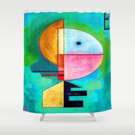 Kandinsky Upward Shower Curtain