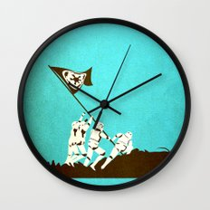 Fight for the Empire Wall Clock