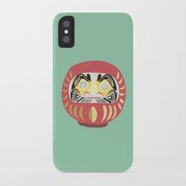 Daruma Doll iPhone Case