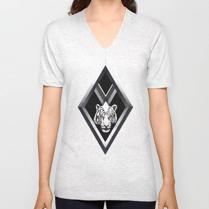 Diamante Unisex V-Neck