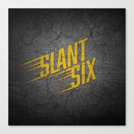 Vintage Slant Six Canvas Print