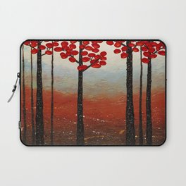Red Blossom Laptop Sleeve