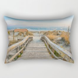 I Can Hear The Waves Calling My Name Rectangular Pillow