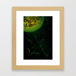 What a Ride! Framed Art Print