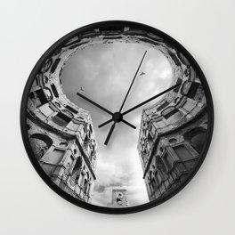 The Keyhole Wall Clock