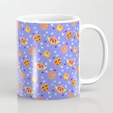 Sailor Moon Brooches Pattern - Blue / Sailor Moon Coffee Mug